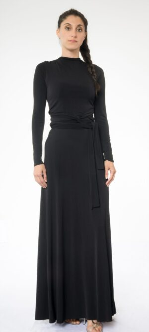 Convertible Long sleeve Maxi Dress