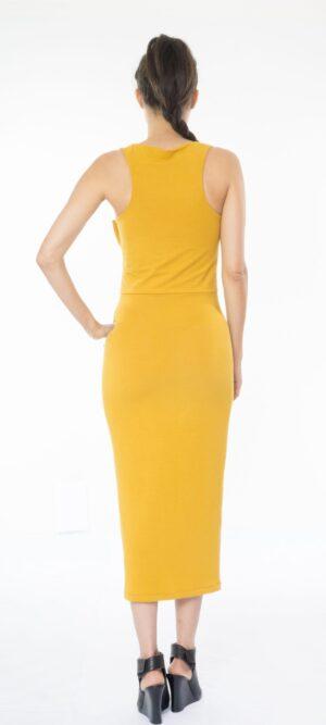 Mia Sleeveless Bodycon Jersey Dress